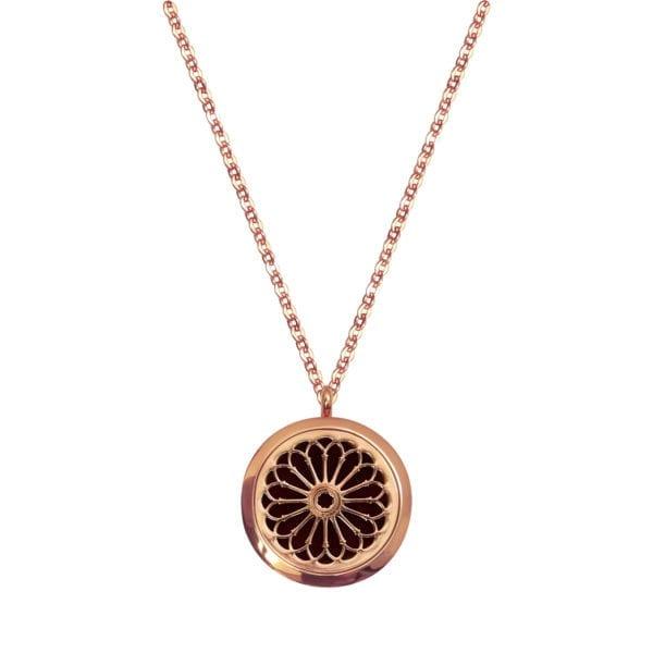 mirisni medaljon rozeta
