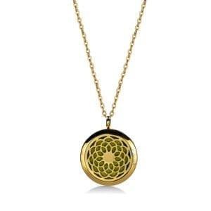Scented jewellery medallion