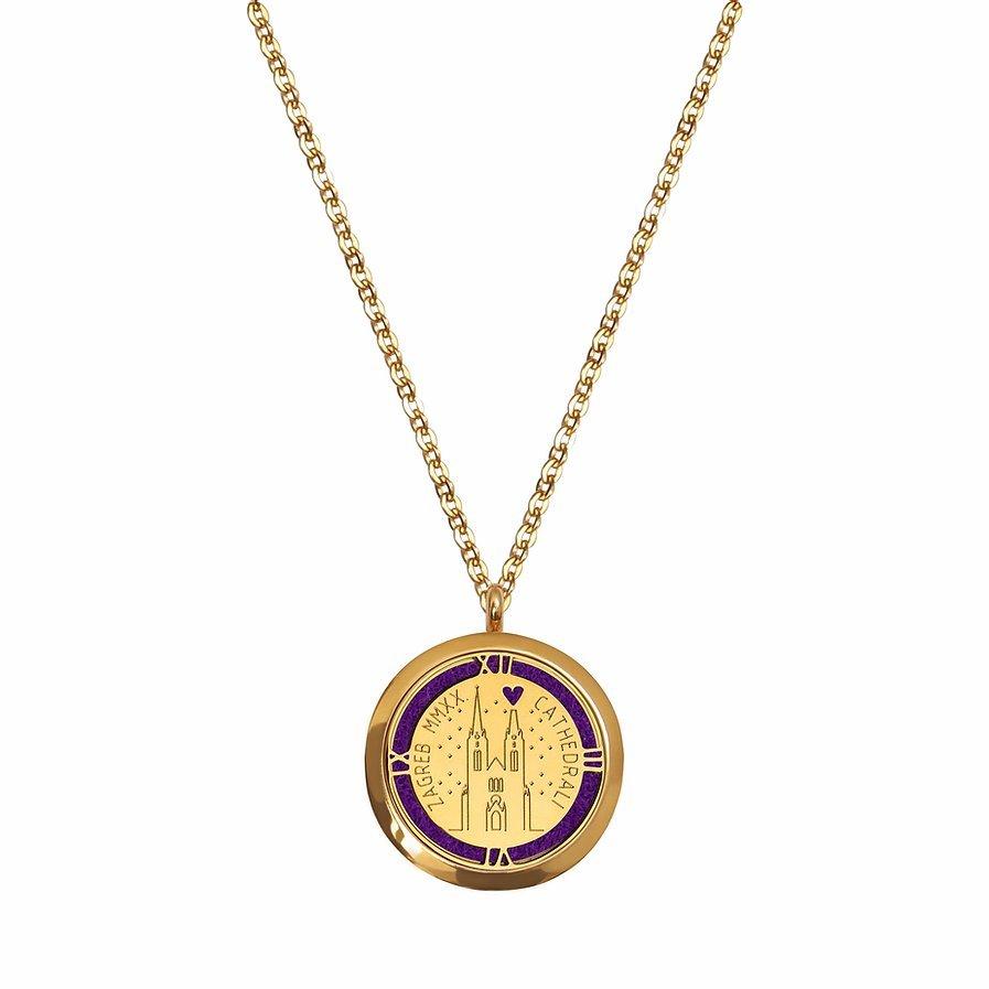 Suvenir Zagreba medaljon